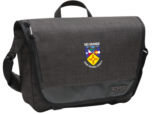 Rio Grande Rugby Referee Society Messenger Bag