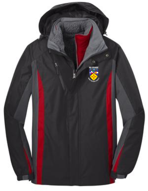 Rio Grande Rugby Referee Society 3-in-1 Jacket