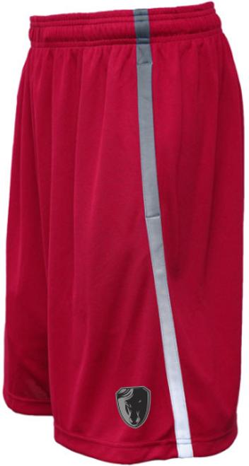 Dark Horse 7s Gym Shorts, Red