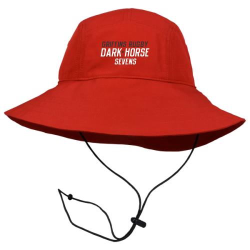 Dark Horse 7s Boonie Hat, Red