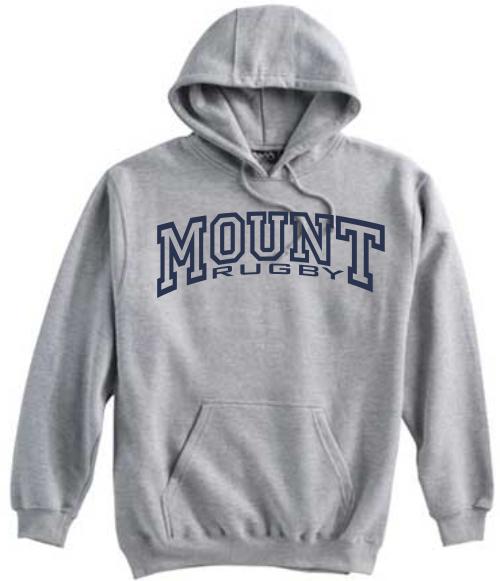 Mount Rugby Hooded Sweatshirt