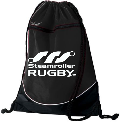 Steamroller Rugby Drawstring Backpack