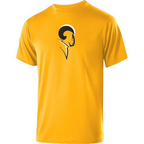 Syracuse Chargers Performance Tee, Gold