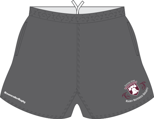 EPRRS Custom (Required) Referee Shorts, Gray