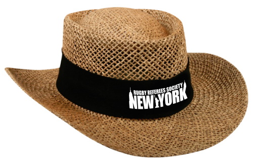 RRSNY Straw Gambler Hat