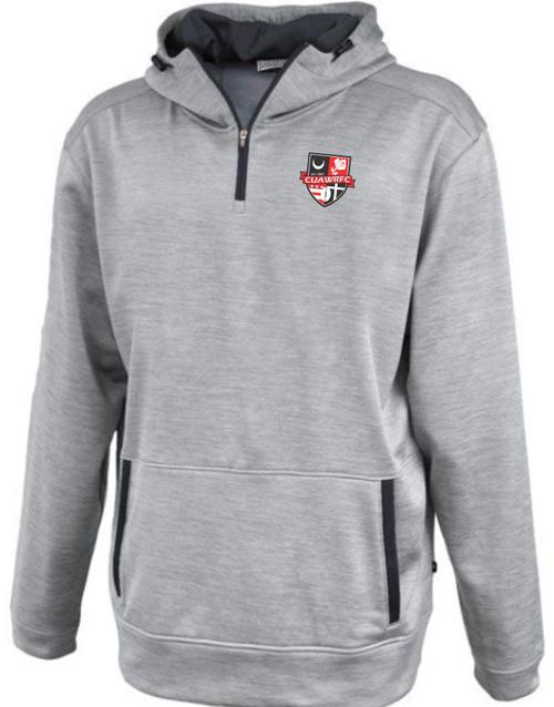 CUAWRFC 1/4-Zip Performance Fleece Hoodie