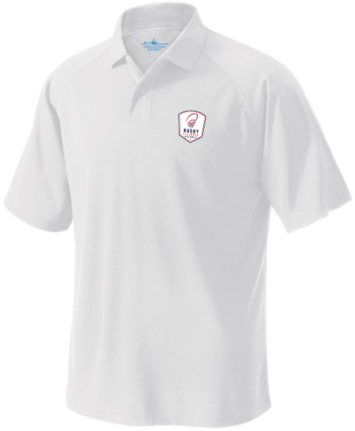 Rugby Illinois Performance Polo, White
