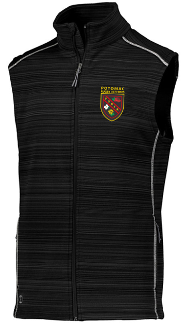 Potomac Referees Poly Fleece Full-Zip Vest