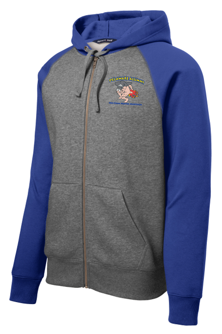 UD Alumni Landshark-Logo Full-Zip Hoodie