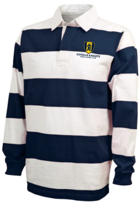 Gotham Knights  Rugby Stripe Polo