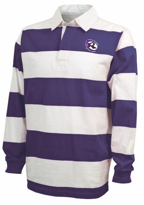 Rochester Renegades Rugby Stripe Polo