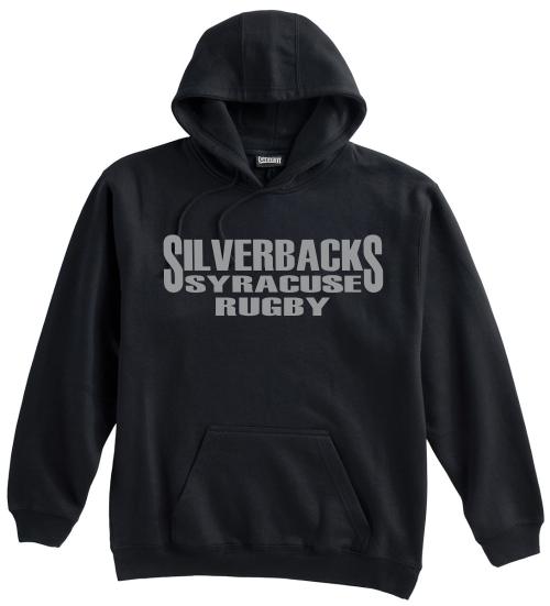 Syracuse Silverbacks Hoodie, Black