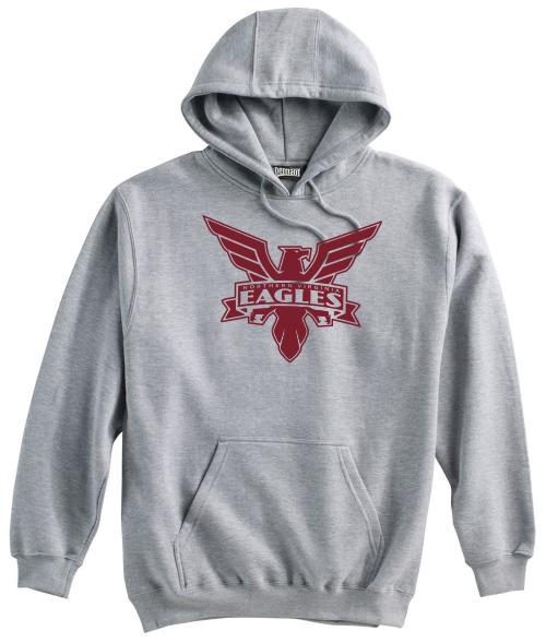 NOVA Eagles Hoodie, Gray