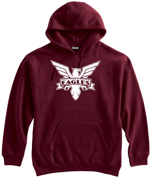 NOVA Eagles Hoodie, Maroon