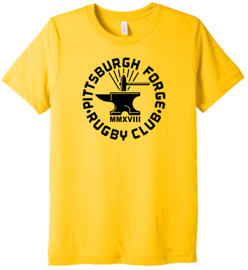 Forge Tee, Gold