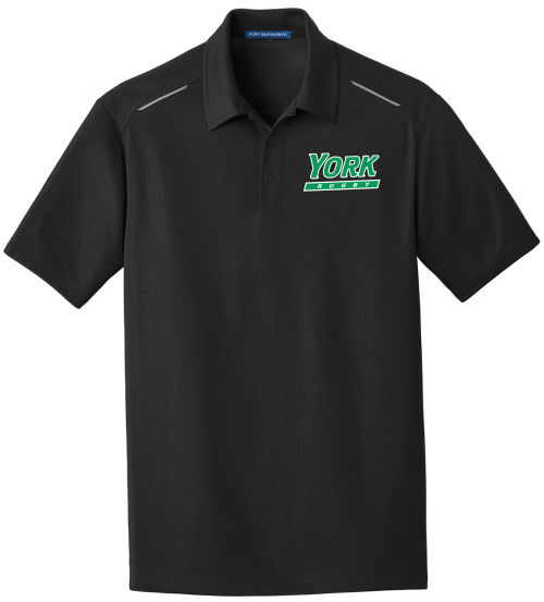 YCP Rugby Pinpoint Mesh Performance Polo