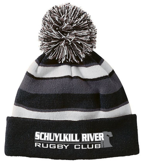 Schuylkill River Pom Beanie