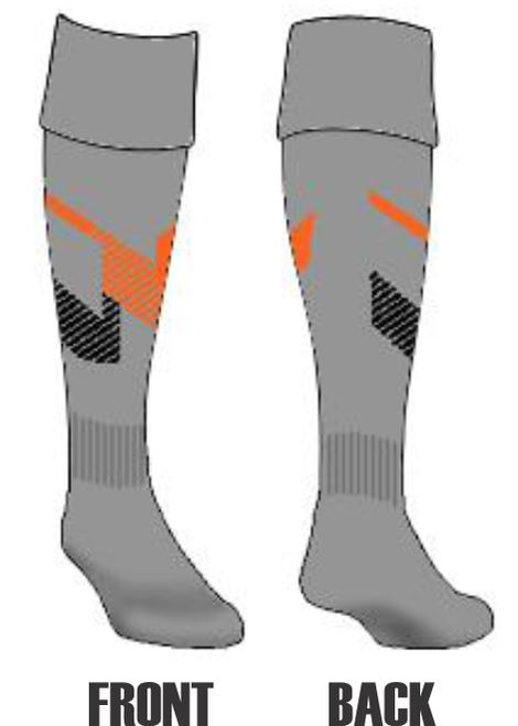 Nuts & Jugs RTS Custom Team Socks