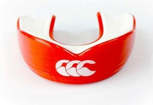 CCC Raze Mouthguard, Red/White
