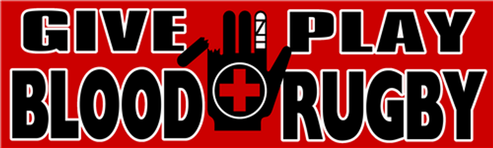 Give Blood, Play Rugby Sticker