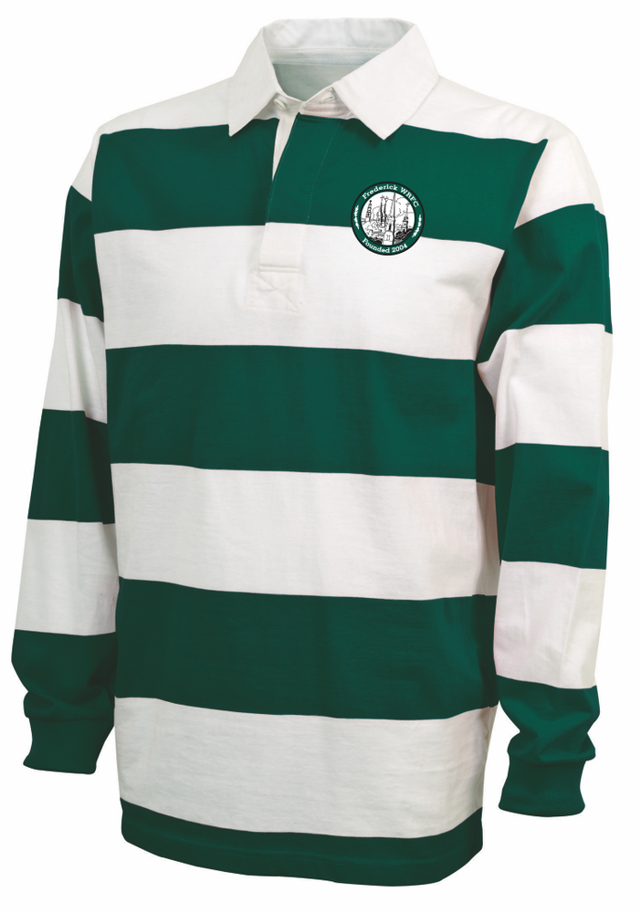 Frederick Women Rugby Stripe Polo