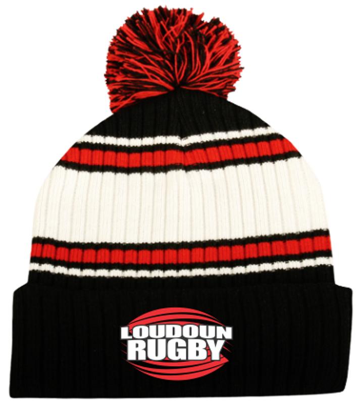Loudoun Rugby Pom Beanie