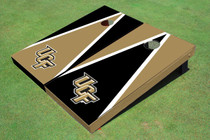 University Of Central Florida Alternating Triangle Custom Cornhole Board