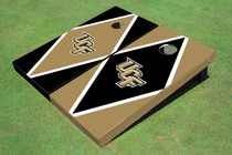 University Of Central Florida Alternating Diamond Custom Cornhole Board