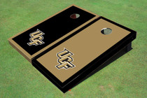 University Of Central Florida Alternating Border Custom Cornhole Board