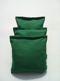 4 Kelly Green Cornhole Bags