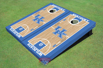 University Of Kentucky UK Logo Matching Basketball Court Custom Cornhole Board