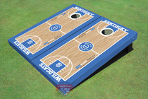 University Of Kentucky Rupp Arena Matching Basketball Court Custom Cornhole Board