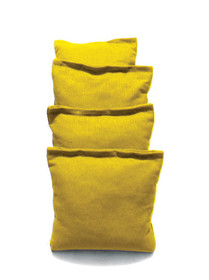 4 Yellow Cornhole Bags