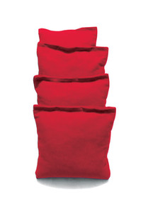4 Red Cornhole Bags