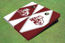 Mississippi State University Bulldog Alternating Diamond Cornhole Boards