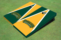 Baylor University Arch Alternating Triangle Cornhole Boards