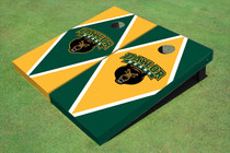 Baylor University Bear Head Alternating Diamond Cornhole Boards