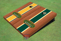 Baylor University Arch Rosewood Alternating Long Stripe Cornhole Boards