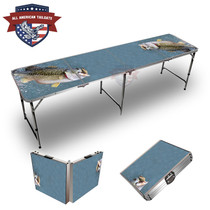 Bass Out Of Water 8ft Tailgate Table