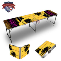 Beach Sunset #3 8ft Tailgate Tables