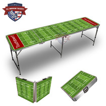 Football Field Touchdown Themed 8ft Tailgate Tables