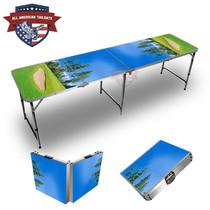 Golf Bunker 8ft Tailgate Table