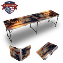 Harley Flag 8ft Tailgate Table