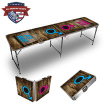 His And Her Hole 8ft Tailgate Table