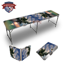 Sunset Palm 8ft Tailgate Table