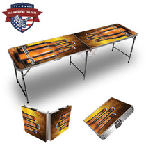 Three Beer MMMM 8ft Tailgate Table