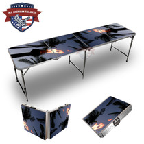 Tiki Torch 8ft Tailgate Table