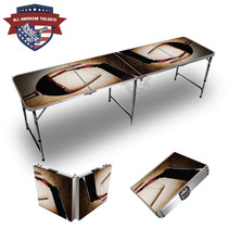 Wine Vignette 8ft Tailgate Table