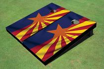 Arizona Flag Cornhole Board