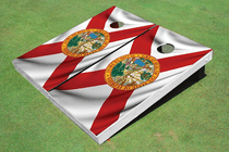 Florida State Flag Custom Cornhole Board
